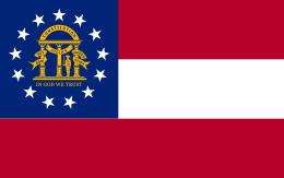 georgia_flagge